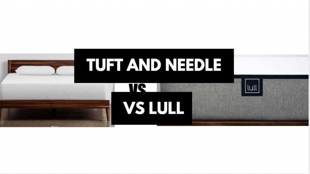 Best Memory Foam Mattress Under $1000 Lull vs Tuft And Needle vs GhostBed